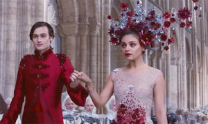 Jupiter Ascending Wedding Scene