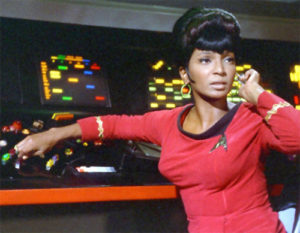 Star Trek's Uhura - Hailing Frequencies Open