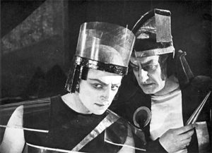 Still from Aelita - Goddess of Mars