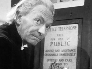 William Hartnell as the first Doctor Who